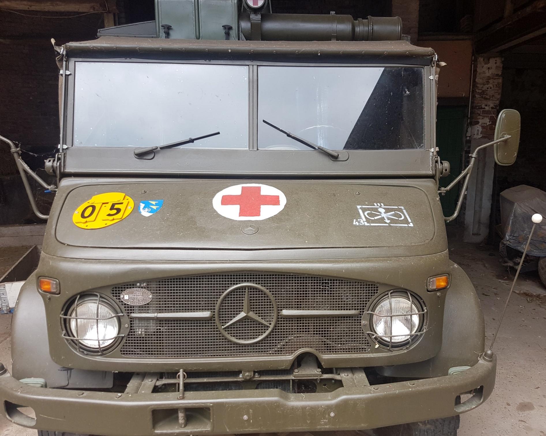Militärisches Gesundheitswesen an der Alexanderstraße