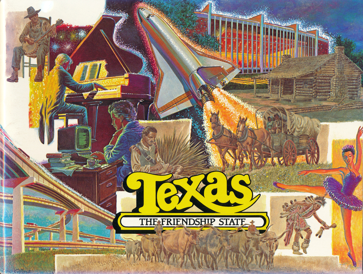 Texas. The Lone Star State